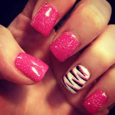 32 easy nail art hacks for the perfect manicure zebra nails