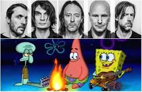 Radiohead Meme - radiohead guitarist tweets spongebob meme says it s perfect