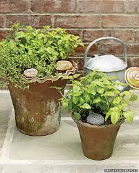 Garden Crafts Ideas - summer garden crafts martha stewart