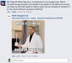 ikea puns ikea responds to customer questions on facebook with silly puns 13