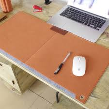 Laptop Cushion Desk Hhd Gj Computer Modern Table Office Mouse Pad Pen Holder Wool Felt