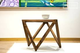 Triangle Accent Table Triangle Side Table Like This Item Bedside Regarding Triangular