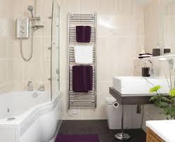 Grey White And Purple Bathroom Bathroom Interior Design Bathroom Ideas Charming Interior