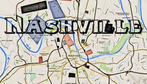 Nashville Airport Map The Real Streets Of The Nashville Gangs And Nashville Hoods
