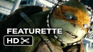 teenage mutant ninja turtles featurette meet michaelangelo 2014