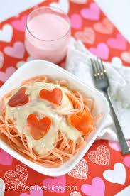 Fun Breakfast For Dinner Ideas Valentines Day Dinner Idea Pink Pasta U0026 Red Pepper Hearts