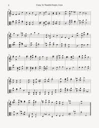musical assumptions thanksgiving