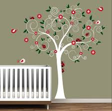 Dr Seuss Nursery Wall Decals by Baby Nursery Wall Decal Wall Sticker Tree Decals Ladybugs Tree