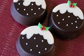 christmas chocolate day 2 christmas pudding chocolate covered oreos baking