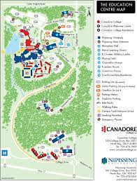 Canada College Map by Parking Services Canadore College