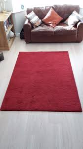red rug from ikea in sheffield south yorkshire gumtree
