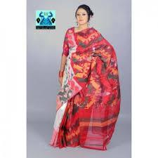 jamdani sharee color half silk jamdani sharee