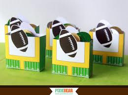 football party favors football party favor box football birthday favor box
