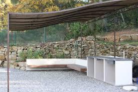cuisine exterieure beton plan de travail exterieur bois la cuisine b ton balian beton atelier