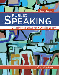 public speaking concepts and skills for a diverse society 8th