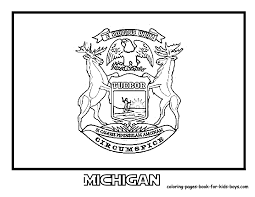michigan wolverines coloring pages murderthestout