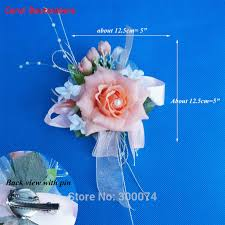 corsage and boutonniere prices 1pc wedding flower boutonniere silk flower brooch artificial