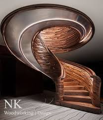 Modern Design Staircase Custom Staircases Stair Design Curved Stairs By Nk Woodworking