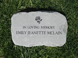 garden memorial stones custom engraved garden by adirondack