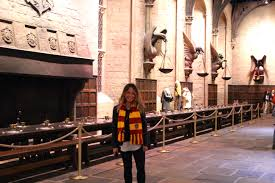 Hogwarts Dining Hall by Harry Potter Caring For Camille