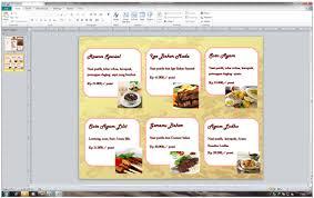 cara membuat brosur makanan langkah langkah membuat brosur menggunakan microsoft office