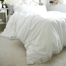 White Cotton Duvet Cover King White Cotton Lace Duvet Cover White Lace Duvet Cover King