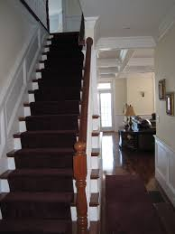 Stairs And Landing Ideas by Alluring Straight Staircase With Landing Decor Combined Purple