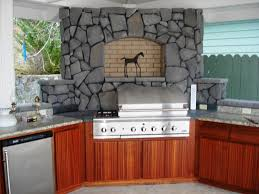wood countertops outdoor kitchen cabinets polymer lighting
