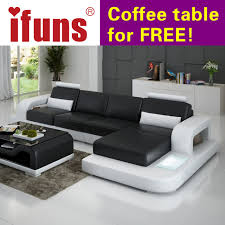 Corner Sectional Sofa Ifuns Unique Leather Sofa Living Room Sofa Set Modern Design