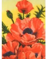 huge deal on brilliant poppies rug