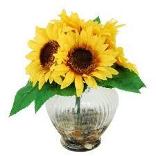 sunflower arrangements sunflower flower arrangements you ll wayfair