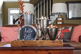 Decorating Ideas For Coffee Tables Unique Living Room Decorating Ideas Fall Coffee Table Decor Diy