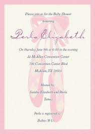 ballerina baby shower invitations baby shower invitations popular ballerina baby shower invitations