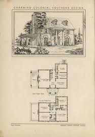 Vintage Southern House Plans Design For A Gothic Revival Country House Drawing Ville