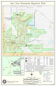 Surprise Arizona Map by San Tan Mountain Regional Park U2022 Hiking U2022 Arizona U2022 Hikearizona Com