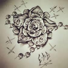 dew drops rose tattoo design best tattoo designs