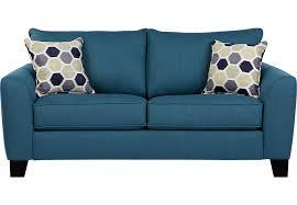 bonita springs blue sleeper loveseat sleeper loveseats blue