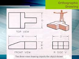 orthographic drawing ppt download