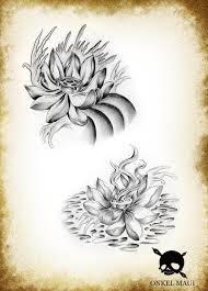 lotus sketch by onkelmaui on deviantart