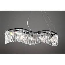 linear pendant lighting lights rectangular dining chandelier led chandeliers pendant