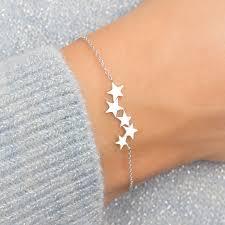 bracelet star images Personalised sterling silver star bracelet jpg