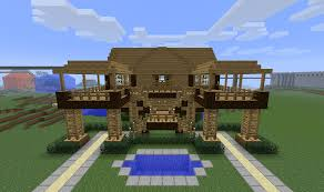 stilt house designs minecraft house on top of bearded steve description from