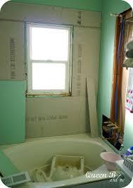 queen b u0026 me subway tile diy bathroom part 2