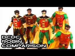 dcuc robin comparative figure review youtube
