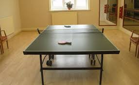 ping pong table playing area lostock sports and social club northwich