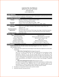 Latest Resume Format For Freshers Engineers Science Resume Format Free Resume Example And Writing Download