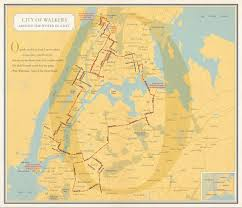 New Orleans On Map The Arty Maps Of U0027nonstop Metropolis U0027 Show Nyc The Way Locals