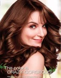 what color garnier hair color does tina fey use tina fey hair bangs google search best tressed pinterest