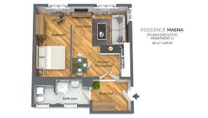 floor plan studio type studio apartment type 1 residence masna