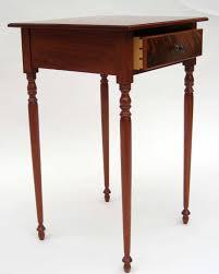 Mahogany Side Table Fine Furniture Windward Woodworks